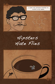 Hipsters Like Coffee 3x3